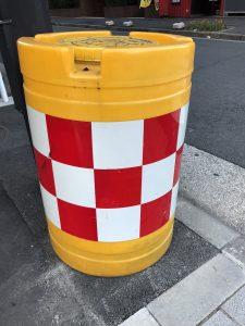 ドラム型デリネーター