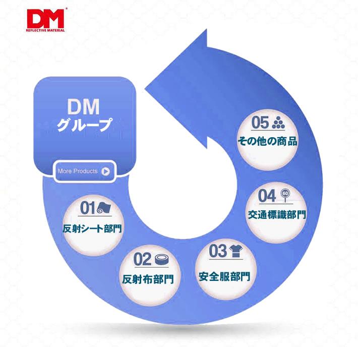 反射材の事ならDMジャパンにお任せください DMでは反射シート、反射布、安全衣類、交通標識をはじめ反射素材を取り扱っています。